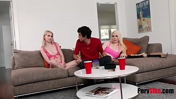CAUGHT SISTERS and now punished them- Eden Sparkle & Kimberly Vader