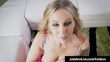 Milf Beauty Julia Ann Gives Wet POV BlowJob &amp_ Handjob!
