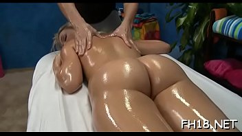 Beauty next door facialed by her massagist