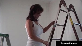 Super Hot Milf, Deauxma &amp_ Hubby Have Great Oral &amp_ Anal Sex!
