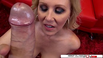 Rockettube first suck Julia ann is one well seasoned dick sucking pro