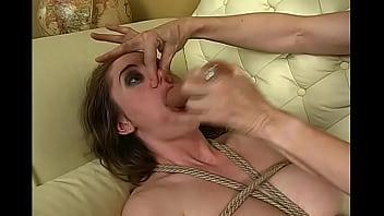 Breath Training Nosehold humiliation slut BDSM Bondage Slave pig Lesbian