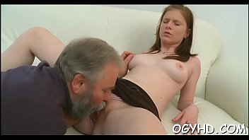 Young muff filled by old pecker