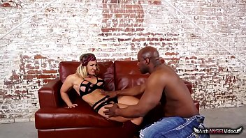 Cali Carter In Her First Interracial Sex