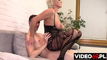 Polish porn - Homemade step mom and son