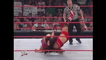 Victoria vs Mickie James lingerie match. thumbnail
