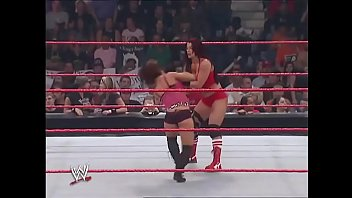 Micki james sex video - Victoria vs mickie james lingerie match.