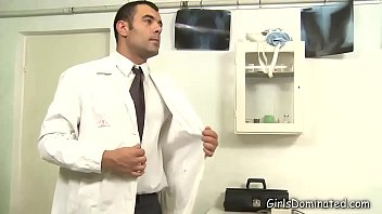 Dominant Doctor Uses His Blonde Patient thumbnail