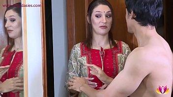 10371 Landlady torments young tenant Niks Indian preview
