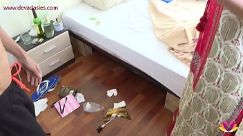 9675 Landlady torments young tenant Niks Indian preview
