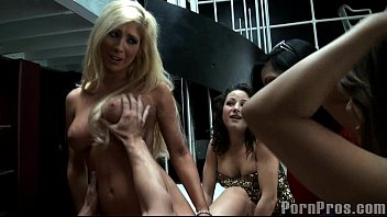 Horny girl hand job - Party girls get nasty.6