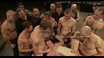 Gay gang bang session
