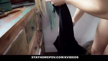 StayHomePOV - Blonde Chick Fucked By The Med Prof After Quarantine Test