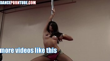asian stripper hot pole dance