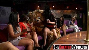 Explosive orgies cumshots 05 strippers get blown at cfnm sex party 05