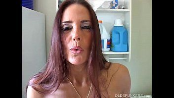 Kinky MILF shows off her puckered asshole and sexy body video