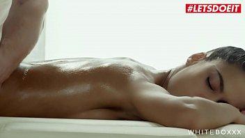 LETSDOEIT - Erotic Hot Massage Sex With A Delicious Spanish Teen Apolonia Lapiedra