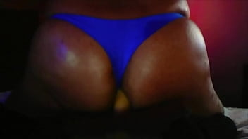 Kelly CD With Blue Thong Fucking Hard a Dildo! Vol.1