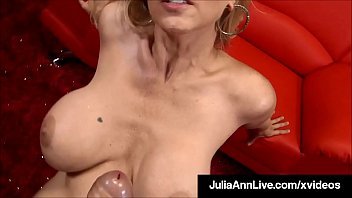 Your huge penis - Mega milf julia ann performs a work of art on a hard cock