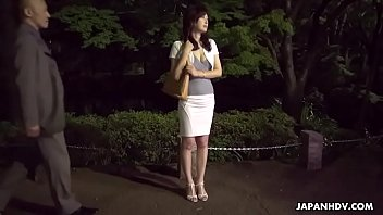 Japanese housewife, Noeru Mitsushima is dating and fucking men, uncensored