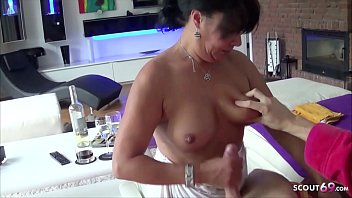 German Housewife Leila Cheat Husband with Friend of her s.