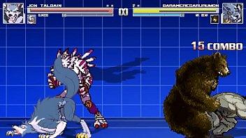 Gay furry sesx Gundog and jon talbain vs mrbear and weregarurumon bara battle
