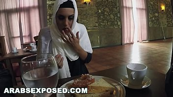 ARABSEXPOSED - Hungry Woman Gets Food and Fuck (xc15565) thumbnail
