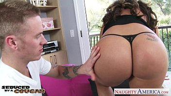 Busty cougar Richelle Ryan gets facialized Preview