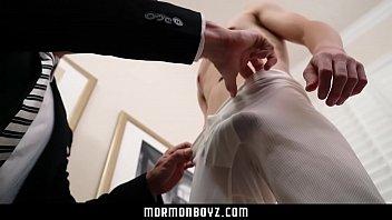 Anal virgins gay Mormonboyz - handsome priest barebacks a young virgin missionary