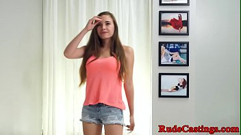 Casting petite teen hardfucked at sexaudition