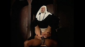 Priest discipline spell penetration Dirty nun ass fucked by a black priest in the confessional
