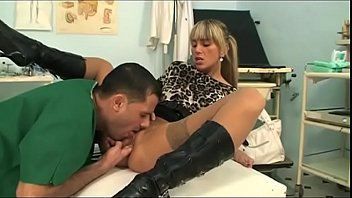 Dirty doctor slams her cute patient