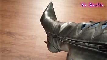 playing leather boots