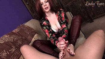 Controversial sex topics - Mommys big boy handjob footjob by lady fyre
