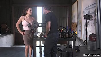 Mr slave hentai - Busty parole officer tied up and anal fucked