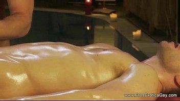Gay massage naked - 0422 genital massage