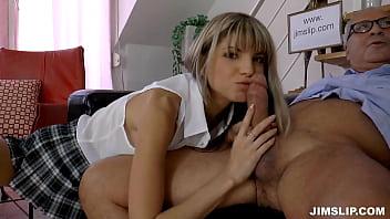 Gine Gerson Schoolgirl Threesome