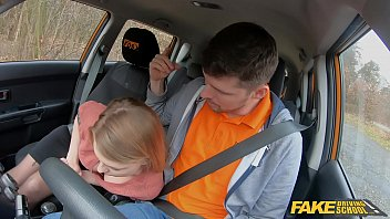Fake Driving School Lucy Heart uses her Body to Pay for Extra Lessons