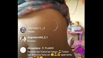 Follando en live de instagram