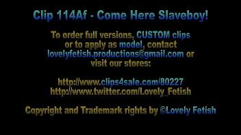 Clip 114 Af Come Here, Slaveboy! - Full Version Sale: $12