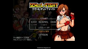Yoruichi porn galleries Okeyutei school dot fight ver.1.2 gallery