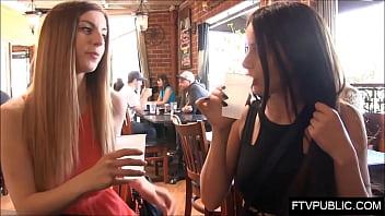 Pornstars in public