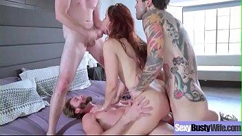 Sexy Big Juggs Hot Wife (Syren De Mer) Banged Hardcore On Cam video-27