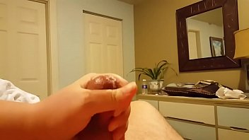 Amateur BBW Handjob Cum Milking and Post-Orgasm Torture preview image