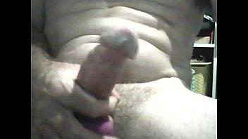 Masturbating with a vibrating cock ring