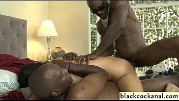 White and nigger sex - Interracial dp with ass to mouth