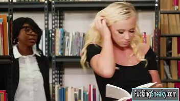 Bailey Brooke gets fucked in the library
