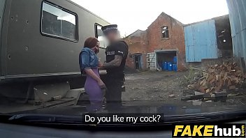 Sexual harassment in the police force Fake cop unfaithful girlfriend feels the force
