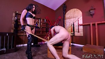 Femdom caning bdsm Beg for a good caning/3 minutes to cum