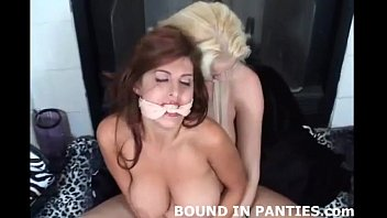 Panty and stocking porn Natalie minx bound tight in lingerie and stockings